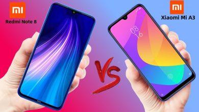 تصویر از مقایسه بین دو گوشی Xiaomi-Redmi-Note-8T-VS-Xiaomi-Mi-A3—Full-Comparison-