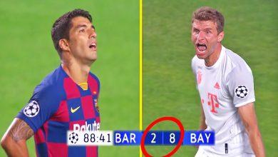 تصویر از نتیجه های باور نکردنی در فوتبال بایرن مونیخ و بارسلونا