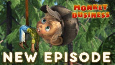 تصویر از ماشا و خرس – تجارت میمون 🐵 (قسمت 74)